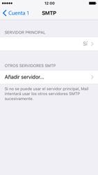 Apple iPhone SE iOS 10 - E-mail - Configurar correo electrónico - Paso 18
