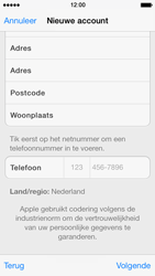 Apple iPhone 5 met iOS 7 - Applicaties - Account aanmaken - Stap 21