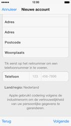 Apple iPhone 5 iOS 7 - apps - account instellen - stap 22