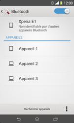 Sony D2005 Xperia E1 - Bluetooth - connexion Bluetooth - Étape 8