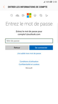 Samsung Samsung G928 Galaxy S6 Edge + (Android N) - E-mail - Configuration manuelle (outlook) - Étape 6
