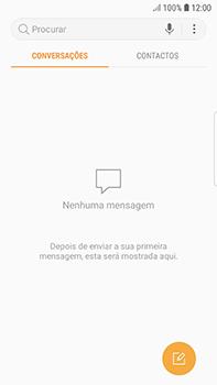 Samsung Galaxy S7 Edge - Android Oreo - SMS - Como configurar o centro de mensagens -  4