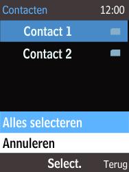 Nokia 220 - Contacten en data - Contacten kopiëren van SIM naar toestel - Stap 9