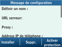 Samsung C3500 Chat 350 - MMS - Configuration automatique - Étape 4