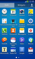 Samsung Galaxy Trend Plus - SMS - Como configurar o centro de mensagens -  3