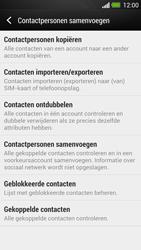 HTC One - Contacten en data - Contacten kopiëren van SIM naar toestel - Stap 6