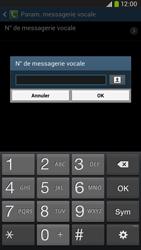 Samsung I9205 Galaxy Mega 6-3 LTE - Messagerie vocale - Configuration manuelle - Étape 8
