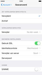 Apple iPhone 6 iOS 8 - E-mail - e-mail instellen: POP3 - Stap 22