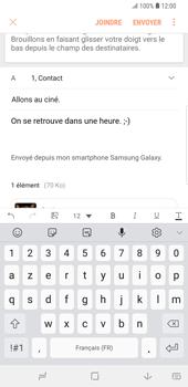 Samsung Galaxy S9 Plus - E-mail - envoyer un e-mail - Étape 19