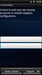 Sony Ericsson Xperia Neo V - E-mail - e-mail instellen: POP3 - Stap 5