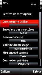 Nokia 5800 Xpress Music - SMS - configuration manuelle - Étape 9