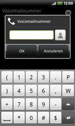 HTC A7272 Desire Z - Voicemail - Handmatig instellen - Stap 7
