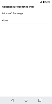 LG G6 - E-mail - Configurar Yahoo! - Paso 6