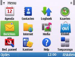 Nokia E5-00 - E-mail - hoe te versturen - Stap 3
