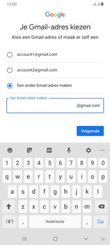 Samsung galaxy-a70-dual-sim-sm-a705fn - Applicaties - Account aanmaken - Stap 12