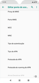 Motorola Moto G7 - Internet (APN) - Como configurar a internet do seu aparelho (APN Nextel) - Etapa 13