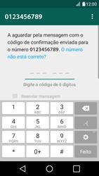 LG K4 - Aplicações - Como configurar o WhatsApp -  8