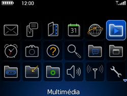 BlackBerry curve 3G - Photos, vidéos, musique - Envoyer une photo via Bluetooth - Étape 3