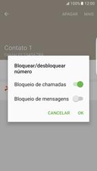 Samsung Galaxy S7 Edge - Chamadas - Como bloquear chamadas de um número específico - Etapa 9