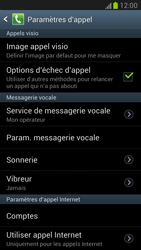 Samsung N7100 Galaxy Note II - Messagerie vocale - configuration manuelle - Étape 5