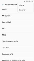 Samsung Galaxy S7 - Android Nougat - Internet - Configurar Internet - Paso 16