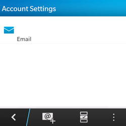 BlackBerry Q5 - Email - Manual configuration - Step 5