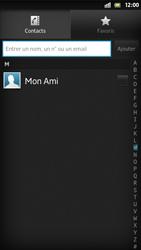 Sony Xpéria S - Contact, Appels, SMS/MMS - Envoyer un SMS - Étape 6