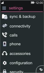 Nokia Asha 311 - Network - Usage across the border - Step 3