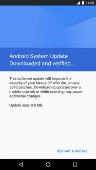 Huawei Google Nexus 6P - Network - Installing software updates - Step 7