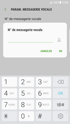 Samsung Galaxy S6 Edge - Android Nougat - Messagerie vocale - configuration manuelle - Étape 10
