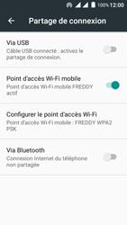 Wiko Freddy - Internet et connexion - Partager votre connexion en Wi-Fi - Étape 10