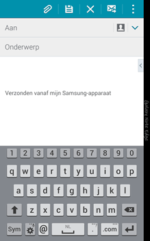 Samsung N915FY Galaxy Note Edge - E-mail - Hoe te versturen - Stap 5