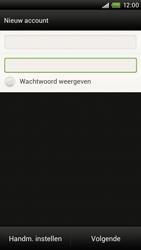 HTC S720e One X - E-mail - e-mail instellen: POP3 - Stap 7