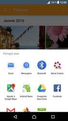 Sony Sony Xperia XA - Photos, vidéos, musique - Envoyer une photo via Bluetooth - Étape 12