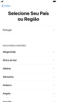 Apple iPhone 7 Plus iOS 11 - Primeiros passos - Como ligar o telemóvel pela primeira vez -  8