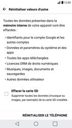 LG LG G5 - Appareil - Réinitialisation de la configuration d