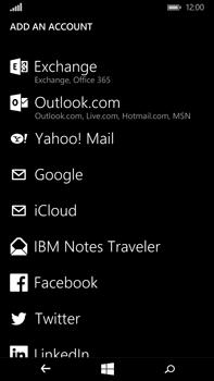 Microsoft Lumia 640 XL - E-mail - Manual configuration - Step 6