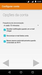 Motorola Moto G (2ª Geração) - Email - Como configurar seu celular para receber e enviar e-mails - Etapa 19