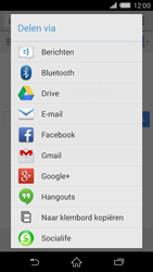 Sony Xperia Z2 4G (D6503) - Internet - Hoe te internetten - Stap 20
