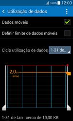 Samsung Galaxy Core II - Internet no telemóvel - Como ativar os dados móveis -  6