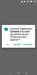 Alcatel 1 - Contact, Appels, SMS/MMS - Ajouter un contact - Étape 4