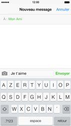 Apple iPhone 5s - Contact, Appels, SMS/MMS - Envoyer un MMS - Étape 8