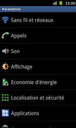Samsung I9070 Galaxy S Advance - Internet - activer ou désactiver - Étape 4