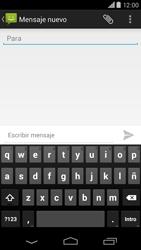 Motorola Moto X (2ª Gen) - Mensajería - Escribir y enviar un mensaje multimedia - Paso 5