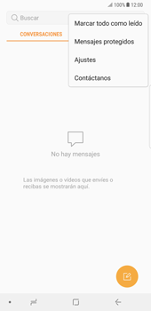 Samsung Galaxy Note 8 - Mensajería - Configurar el equipo para mensajes de texto - Paso 5