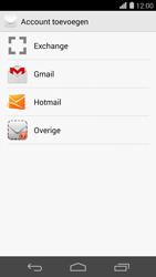 Huawei Ascend P7 - E-mail - e-mail instellen (outlook) - Stap 5