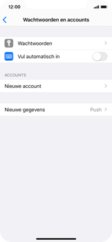 Apple iPhone X - iOS 13 - E-mail - Handmatig Instellen - Stap 4