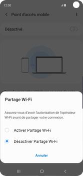 Samsung Galaxy S10 - Internet - comment configurer un point d'accès mobile - Étape 7