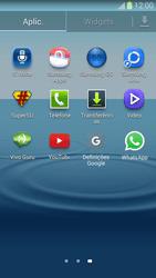 Samsung Galaxy S3 - Aplicações - Como configurar o WhatsApp -  4