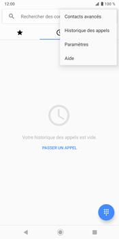 Sony Xperia XZ3 - Messagerie vocale - configuration manuelle - Étape 6
